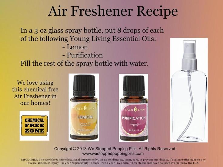 Air Freshener Recipe http
