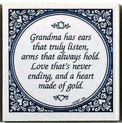 Magnetic Tiles Quotes: Grandma's Heart Gold - GermanGiftOutlet.com  - 1