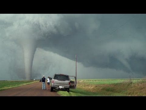 TORNADO TWINS & TRIPLETS!!! Unusual Twisted Tornado Family of May 24, 2016 - YouTube