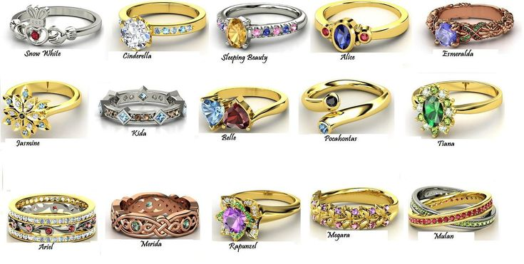 1000 Images About Disney Princess Rings On Pinterest