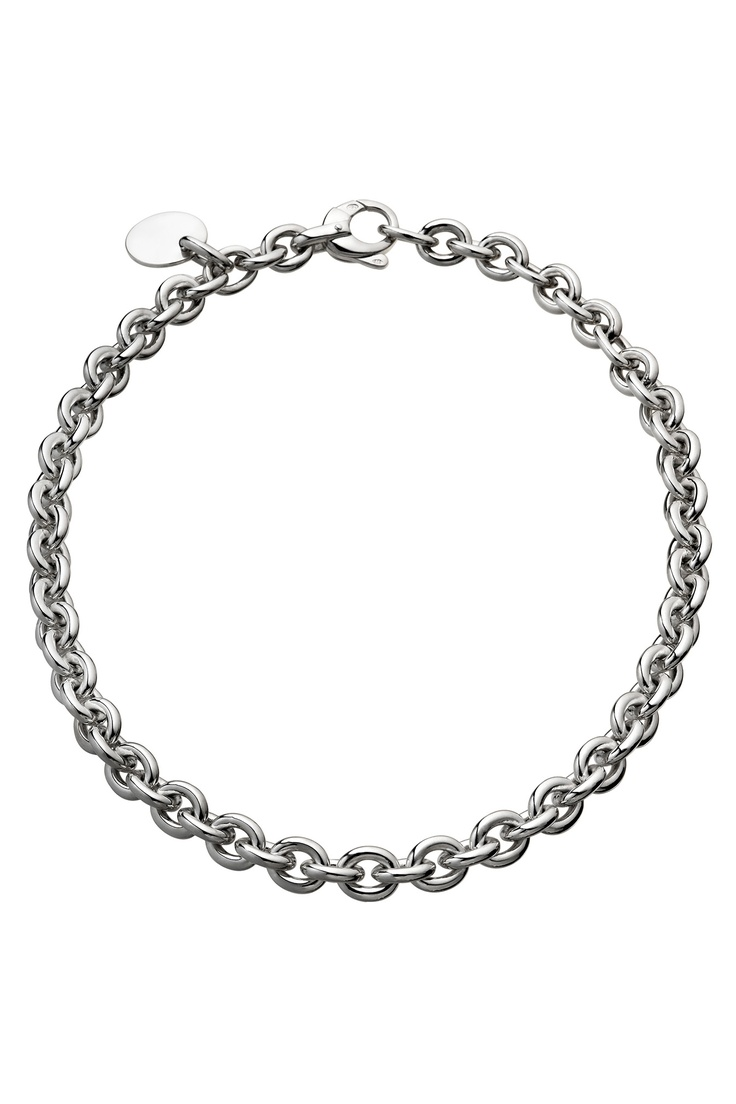Evidence, Chain and Medal Necklace. Sterling silver. # ...
