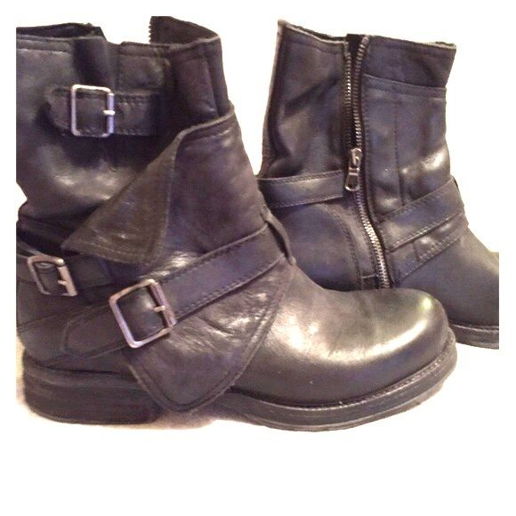 Steven by Steve Madden boots Motorcycle boots, only worn a couple of times. Steven by Steve Madden Shoes Combat & Moto Boots