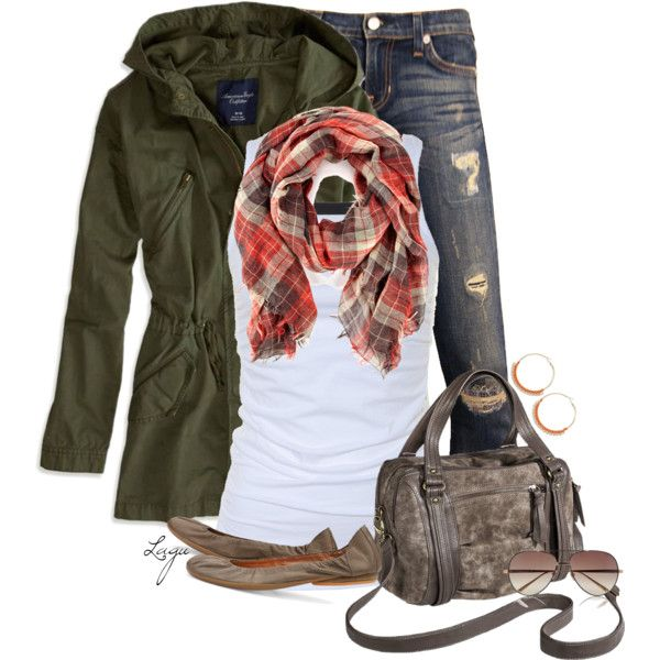 """Cozy Casual Fall"" by lagu on Polyvore"