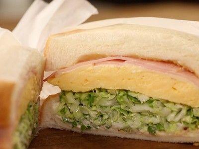 [動画]いま話題の厚焼き卵のサンドイッチの作り方 - クックパッド料理動画