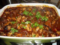 We kregen gasten en ik wilde een stoofschotel die ik tevoren kon bereiden. Het recept ontstond tijdens het koken. Het werd heerlijk zacht rundvlees in een...
