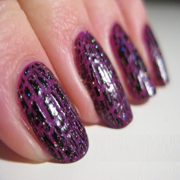 24 best purple nail designs images on pinterest purple nail dark purple acrylic nails prinsesfo Gallery