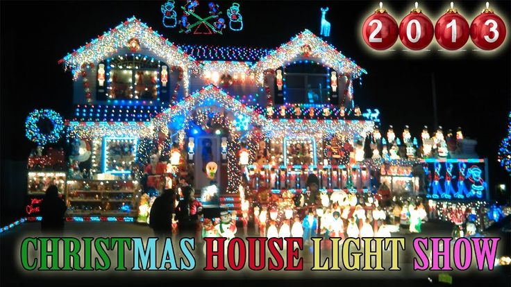 Christmas House Light Show 2013 [Best christmas outdoor decorations in New York] AMAZING!