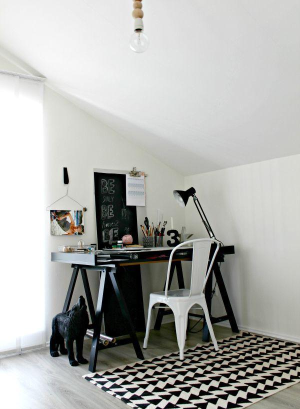 Home Office   scandinavian interior   We Heart Home