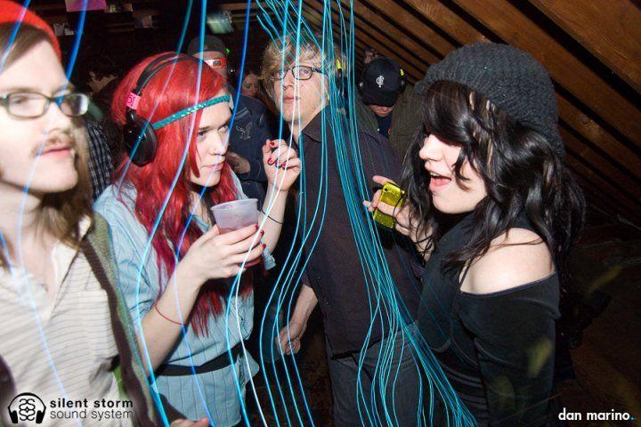 New England's 1st Silent Disco House Party.  www.SilentDis.co