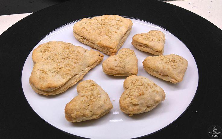Ζαμπονοτυροπιτάκια – μια συνταγή με αρκετή αγάπη!