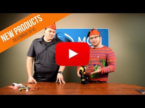 New Products at MCM Electronics - Dewalt Shears, Nebo Flashlights - December 2015 - YouTube #productspotlight