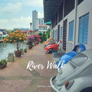 Pedestrian Di Sepanjang Sungai Melaka Sangatlah Bersih Dan Rapi Memungkinkan Kalian Untuk Menikmati Keindahan