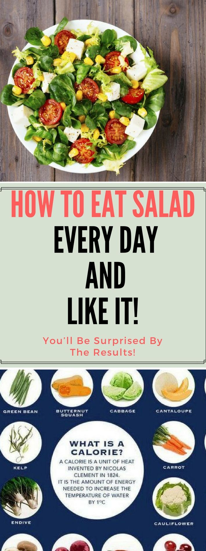 How To Eat Salad Every Day And Like It!!.! Here is.!!! Amazing !!!
