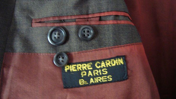 BLAZER COLOR HABANO $100 PIERRE CARDIN PARIS T.L