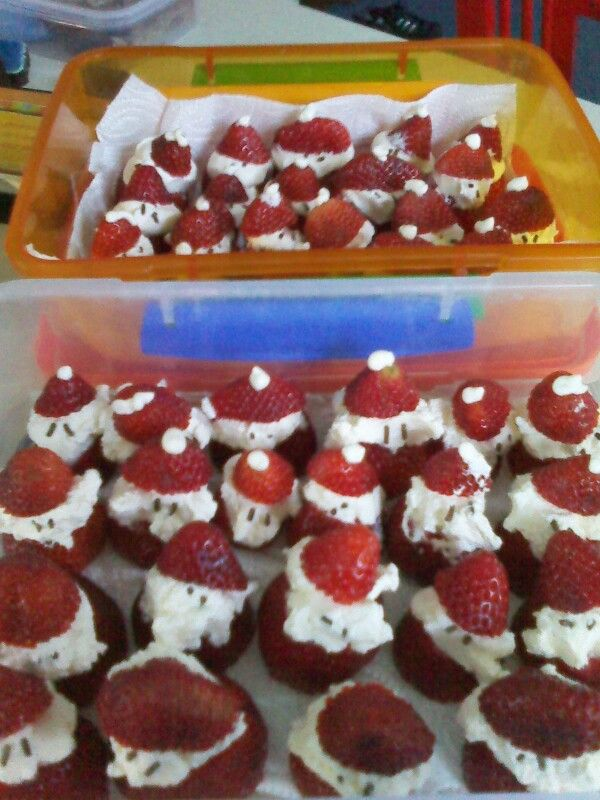 Strawberry santa army