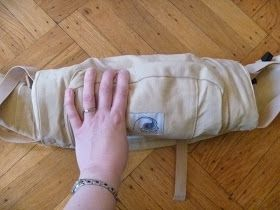 While we were all together at Christmas, my sister-in-law, Kiersten , changed my life by teaching me how to fold up an Ergo carrier into a n...