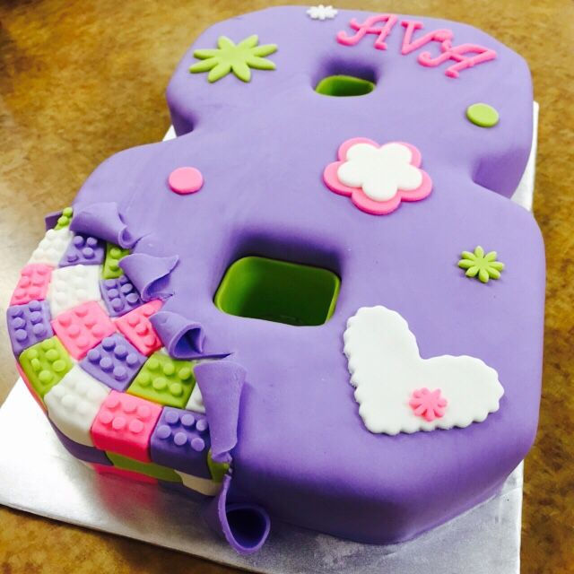 Lego Friends cake! Perfect birthday cake for Lego fans!