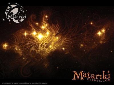Matariki  events poster