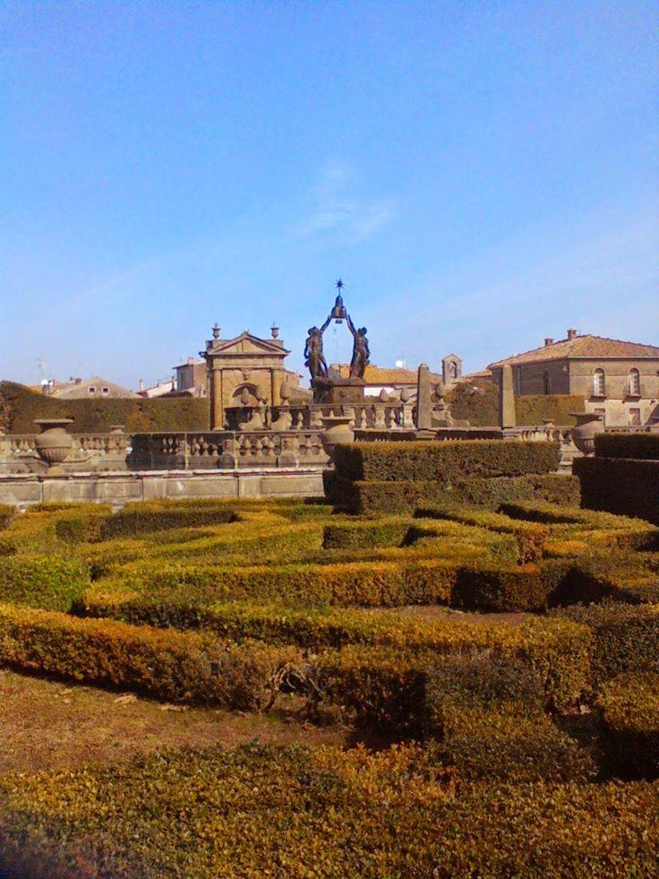 Visitare Villa Lante e il borgo di Bagnaia   GUIDA TURISTICA DELLA TUSCIA