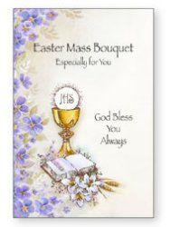 Easter Mass Bouquet Card