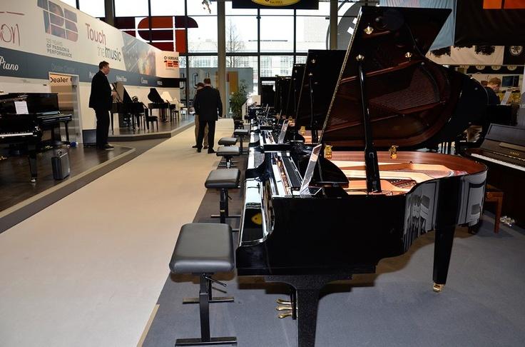 Yamaha Piano | MusikMesse 2013 | Frankfurt | #Y4U