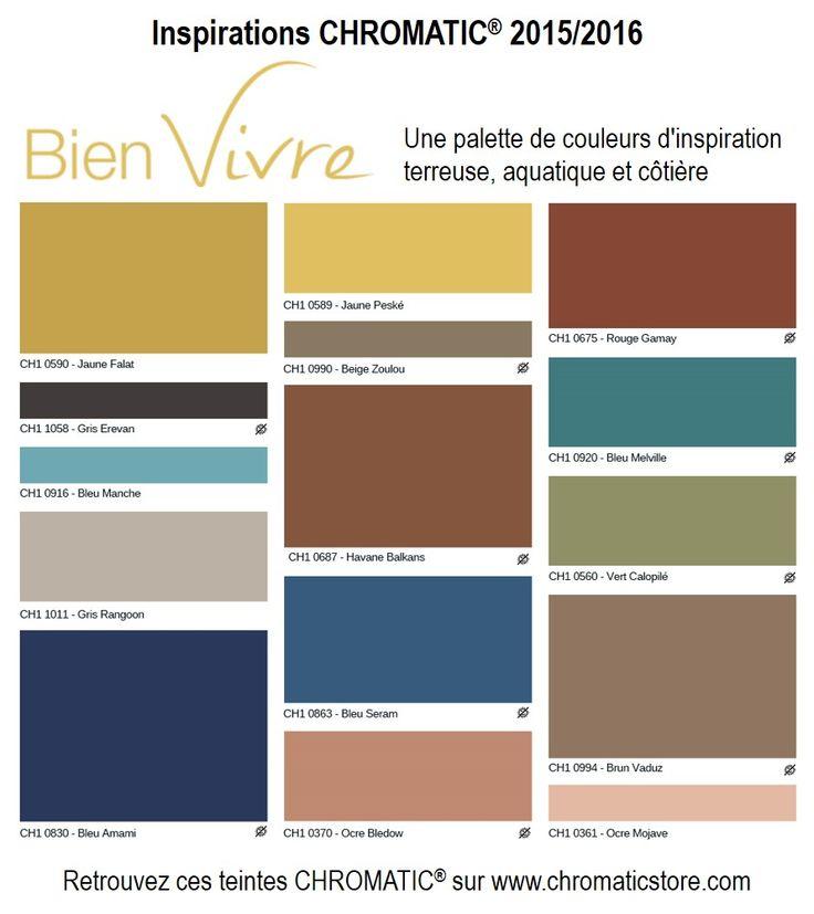 tendances chromatic 2015 bien vivre une palette de couleurs d 39 inspiration terreuse. Black Bedroom Furniture Sets. Home Design Ideas