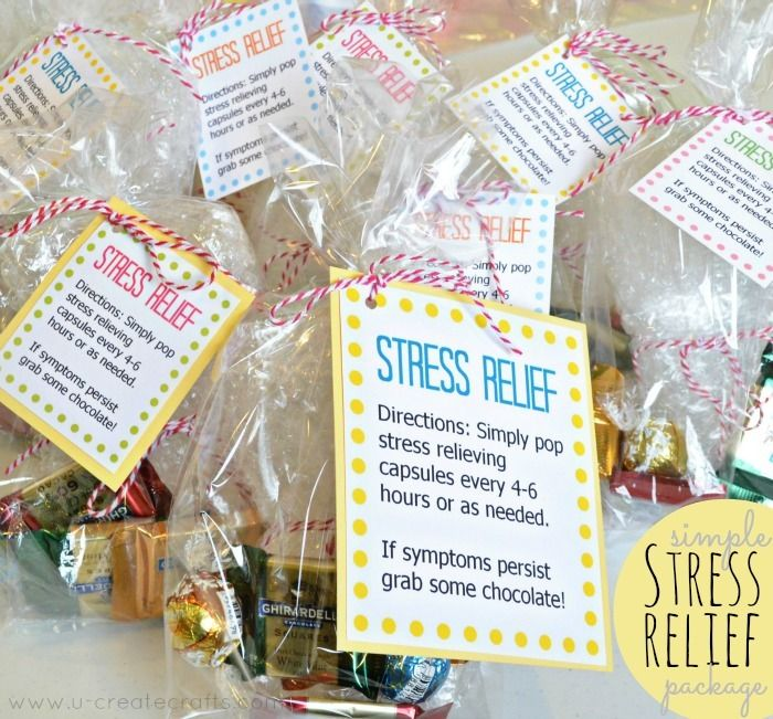 simple stress relief gift idea marketing ideas pinterest gifts christmas and christmas gifts