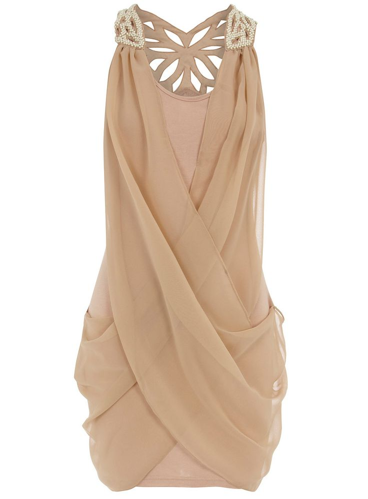 nude dress, so cute