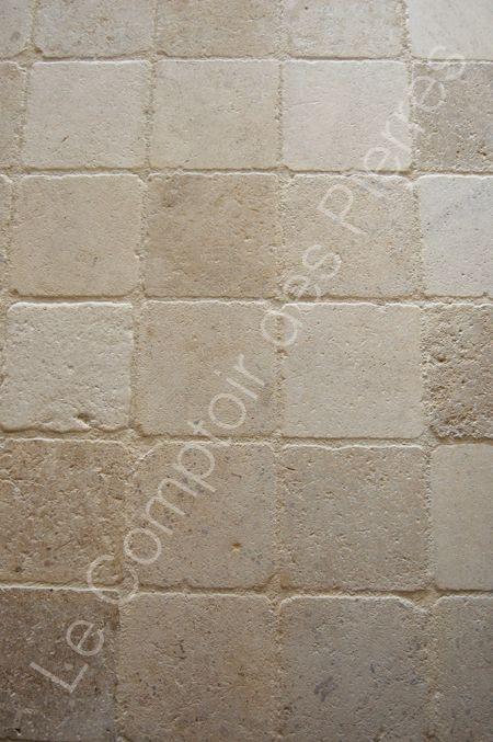Pavés en pierre de Bourgogne 20 x 20 cm