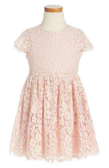Bardot Junior Short Sleeve Lace Dress (Little Girls & Big Girls) available at #Nordstrom