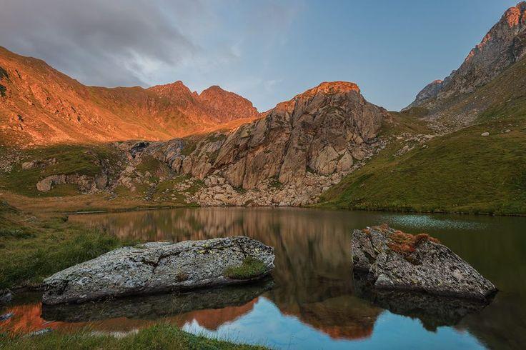 Fagaras mountains. Romania, 2012