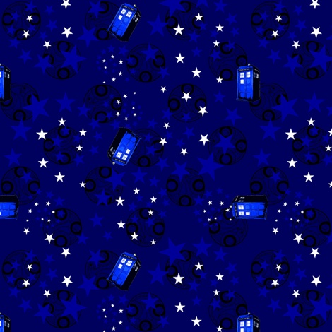 Dr. Who fabric
