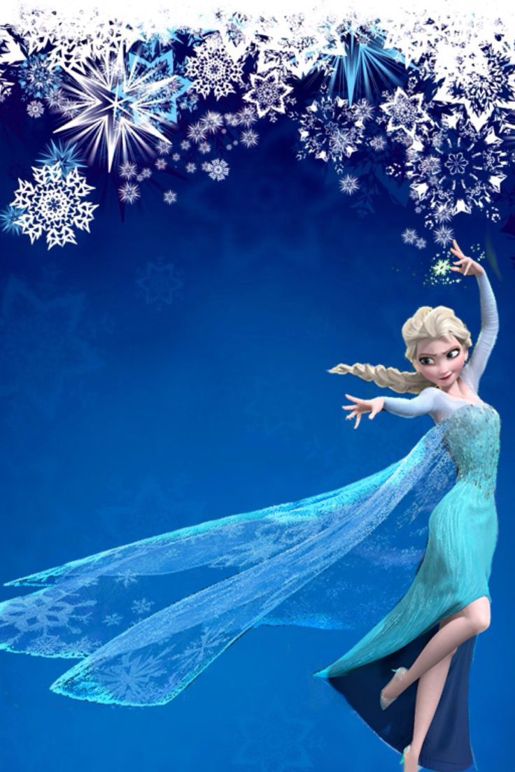 Cool Elsa Wallpaper Use It On Picmonkey To Make Your Own Invites Click Here To Download Elsa Wallpape Frozen Background Frozen Pictures Frozen Birthday Theme Frozen theme wallpaper hd