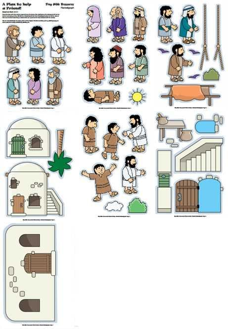 A whole site of printable Bible stories that you can place magnets on and attach to a white board while telling the story.  <3
