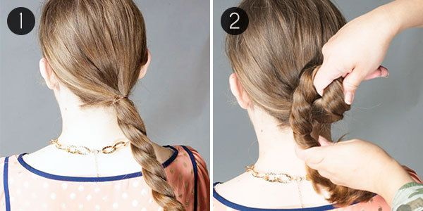 3-Step Low Chignon