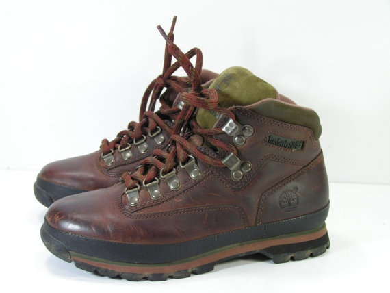 timberland hiking boots womens 75 m b brown by cheapgrannyboots, $39.99