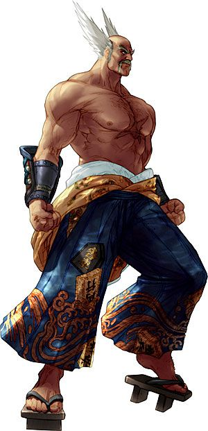Soul Calibur II: Heihachi