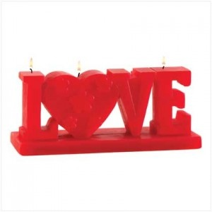 Love Figural Candle apparently showing romantic feelings to your lovemate available @ $9.95  Add to cart