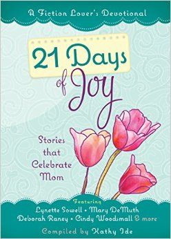 Isn't it adorable? This little fiction devotional series comes out in April....