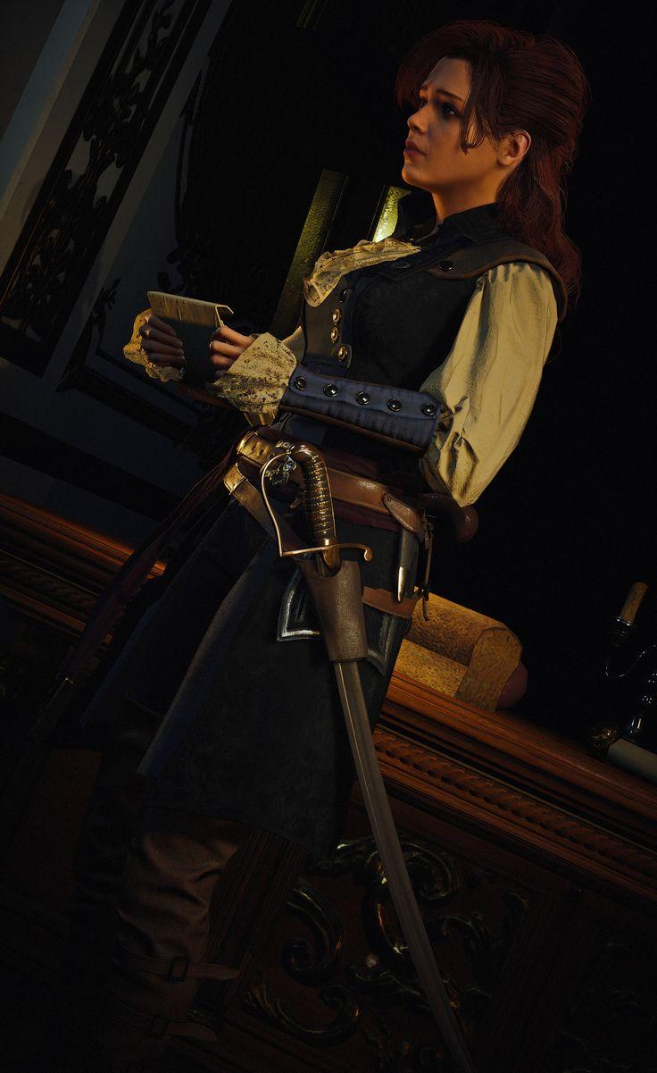 elise de la serre   Assassins creed cosplay, Assassins