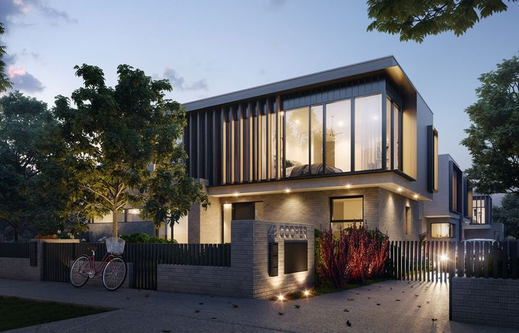 Cooper St Essendon Townhomes - 3D created by JAM3D