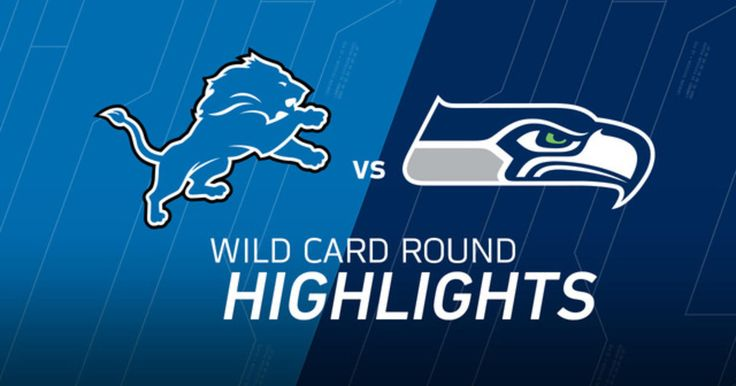 The Detroit Lions take on the Seattle Seahawks in the 2016 NFL Wild Card playoffs.