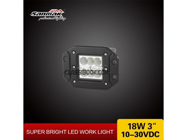 listing SM6186FC Snowplow LED Work Light is published on FREE CLASSIFIEDS INDIA - http://classibook.com/bags-luggage-in-bombooflat-25908