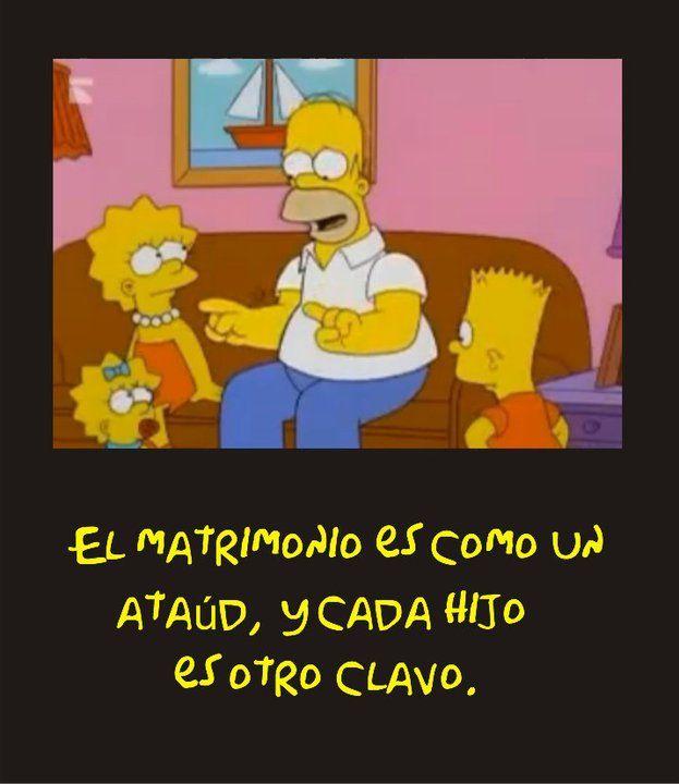 Un gran pensador, Homero Simpson