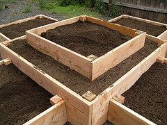 raised bed gardening plans