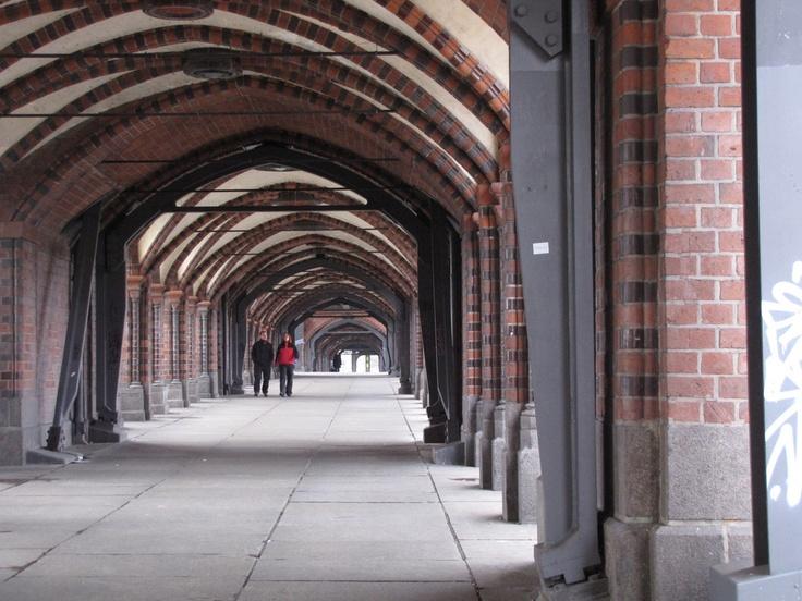oberbaumbrücke Berlin. Photo: Rivka Kofler