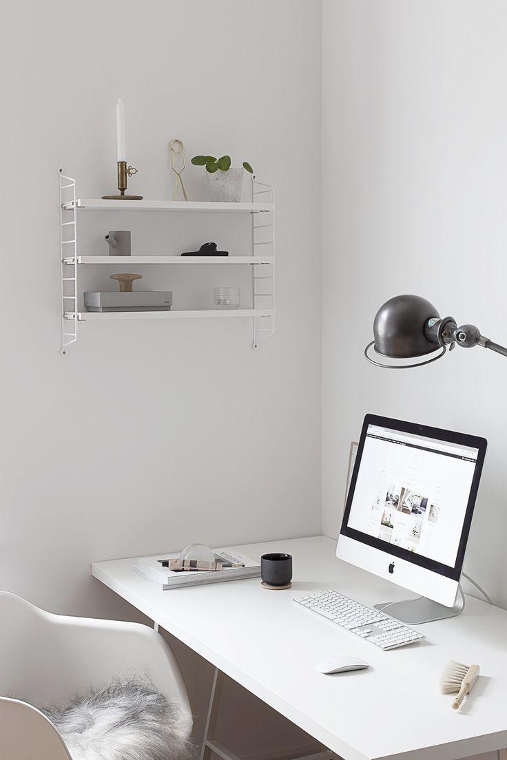 Pin van rachel edworthy op monochrome interiors pinterest interieur - String kantoor ...