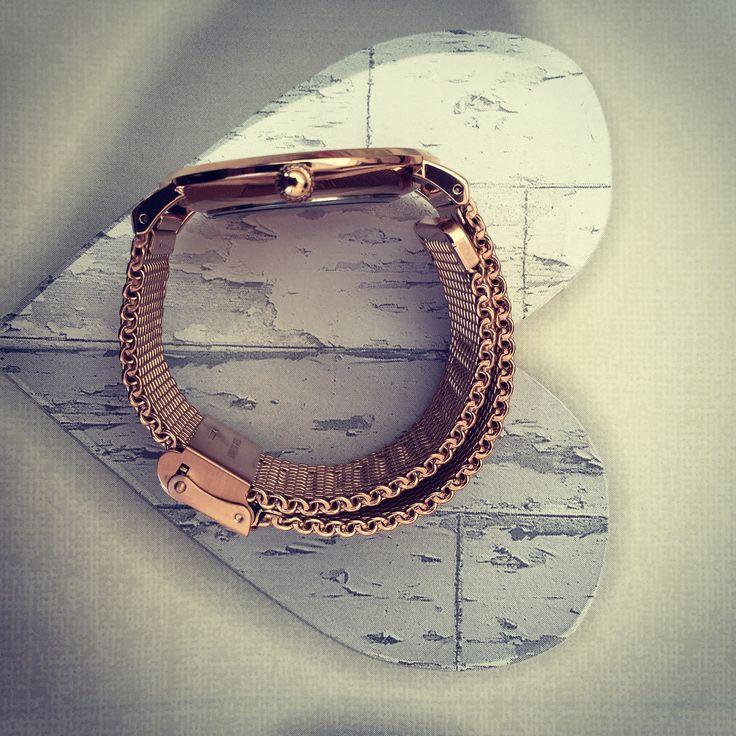 The beautiful English Rose Gold Belgravia watch from https://www.ryanandgilbert.com