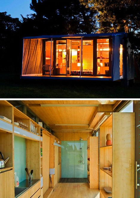 17 Best Sea Can Homes Images On Pinterest Container