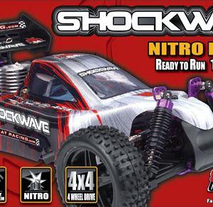 Redcat Shockwave 1/10 Scale Nitro Buggy